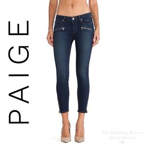 PAIGE Jane Zip Crop Jeans